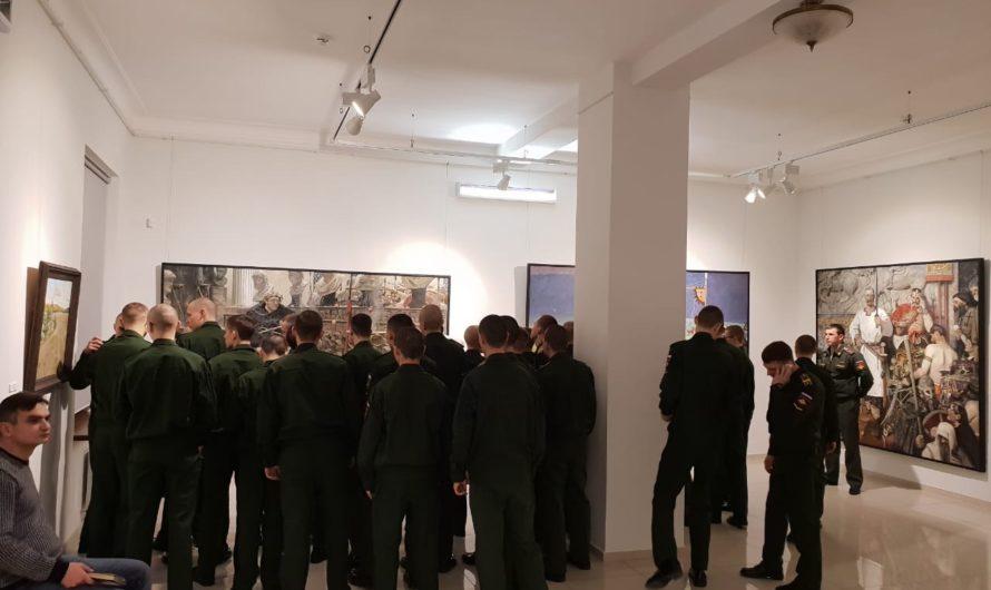 Открылась выставка картин Павла Рыженко в Краснодаре — «Судьба Державы».